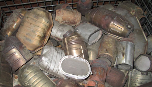 Foil Catalytic Converters